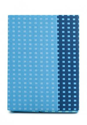 Комплект постельного белья Семейный Хлопковый Край. Цвет: голубой