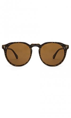 Солнцезащитные очки remmy RAEN. Цвет: коричневый
