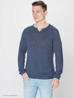 Пуловер S.OLIVER. Цвет: синий
