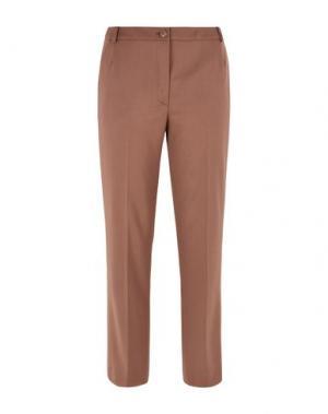 Повседневные брюки GIORGIO GRATI. Цвет: коричневый