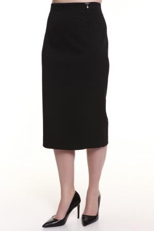 Юбка Maria Grazia Severi. Цвет: черный