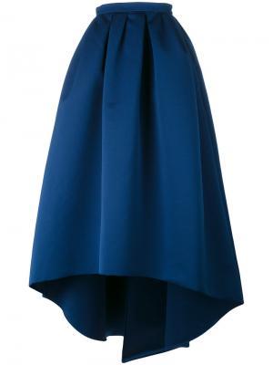 Пышная юбка на талии Paule Ka. Цвет: синий