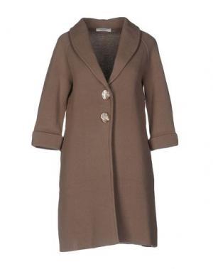 Легкое пальто CHARLOTT. Цвет: голубиный серый