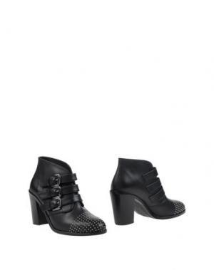 Полусапоги и высокие ботинки SI by SINELA. Цвет: черный
