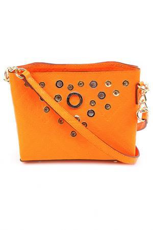 Сумка Gaude. Цвет: оранжевый