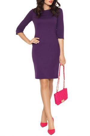 Платье E.LEVY. Цвет: фиолетовый