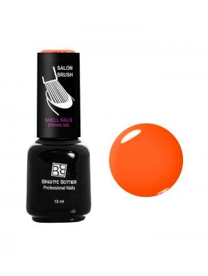 Гель лак Shell Nails тон 993, 12ml Brigitte Bottier. Цвет: оранжевый