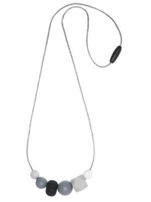 Слингобусы из пищевого силикона Чёрно-белое кино iSюминка. Цвет: черный, белый, серый