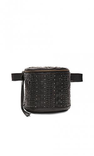 Поясная сумка lea Cleobella. Цвет: черный