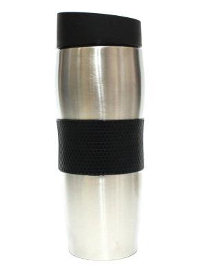 Термос Eleon. Цвет: черный, серебристый