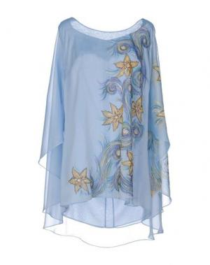Блузка CAILAN'D. Цвет: небесно-голубой
