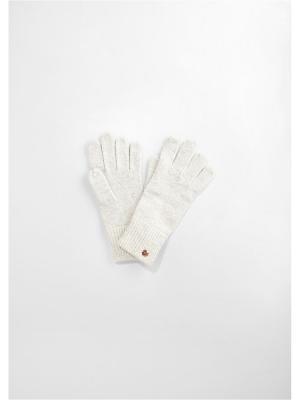 Перчатки S.OLIVER. Цвет: молочный