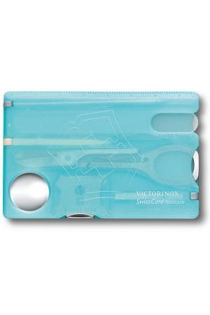 Швейцарская карточка Victorinox. Цвет: голубой