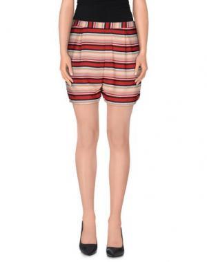Повседневные шорты M!A F. Цвет: красно-коричневый