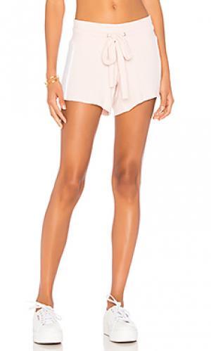 Мягкие шорты Wildfox Couture. Цвет: розовый