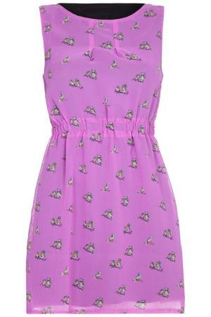 Платье Mela london. Цвет: розовый