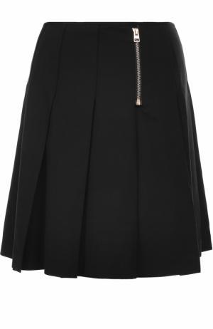 Мини-юбка в складку Tara Jarmon. Цвет: черный