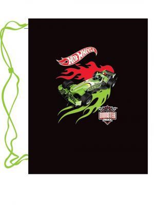 Мешок для обуви Mattel Hot Wheels. Цвет: черный, зеленый, красный