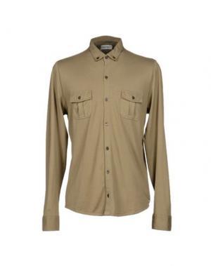 Pубашка MAGLIARO. Цвет: зеленый-милитари