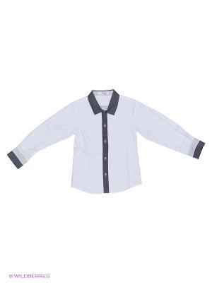 Рубашка Born. Цвет: серый, черный