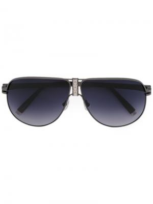 Солнцезащитные очки DeCode: Los Angeles Sama Eyewear. Цвет: металлический