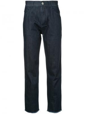 Классические джинсы Quartz Vale. Цвет: синий