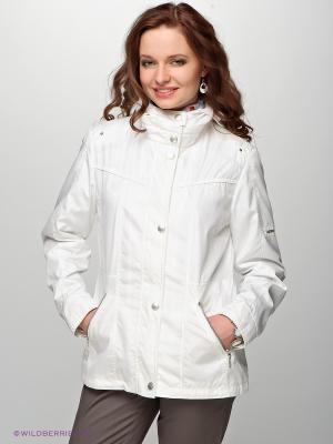 Куртка Gelco. Цвет: белый (осн.)