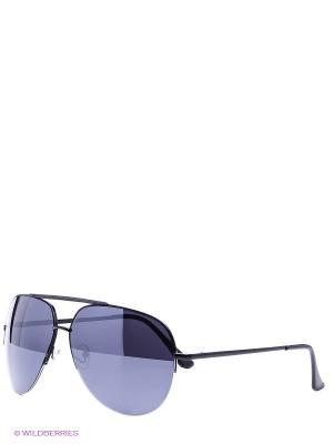 Солнцезащитные очки Vittorio Richi. Цвет: черный, фиолетовый