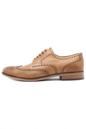Туфли Etor. Цвет: светло-коричневый