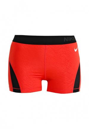 Шорты компрессионные Nike. Цвет: красный