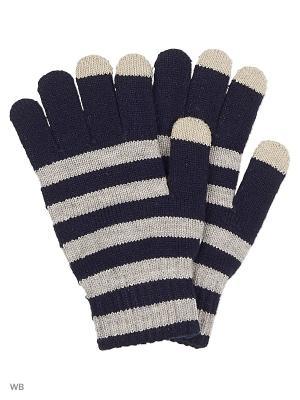 Перчатки ACOOLA. Цвет: синий, серый