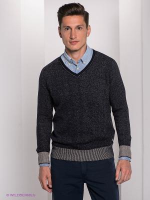Пуловер Bogner Jeans. Цвет: темно-синий, молочный