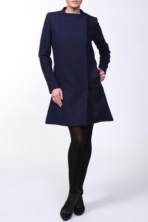 Пальто Victoria Beckham. Цвет: синий