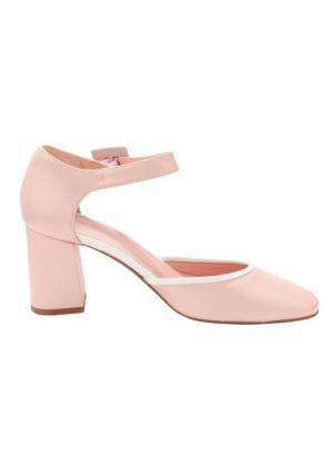 Туфли Heine. Цвет: розовый/белый