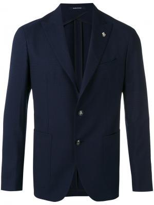 Пиджак Tagliatore. Цвет: синий