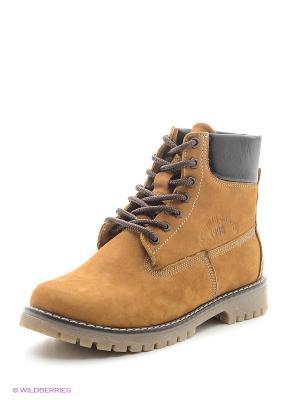 Ботинки Covani. Цвет: оранжевый