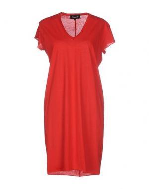 Короткое платье NUMERO 00. Цвет: красный