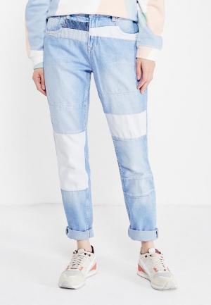 Джинсы Pepe Jeans. Цвет: голубой