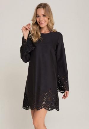 Платье Lezzarine. Цвет: черный