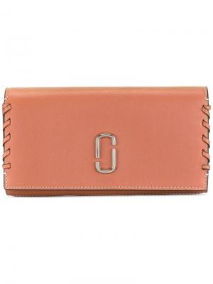 Классический кошелек Marc Jacobs. Цвет: коричневый