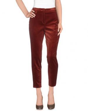 Повседневные брюки ARGONNE. Цвет: коричневый