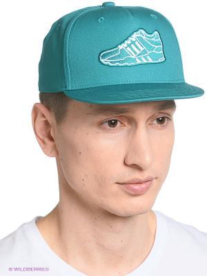 Кепка Snp Fb Cap Eqt Adidas. Цвет: темно-синий, бирюзовый, темно-зеленый