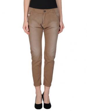 Повседневные брюки GUARDAROBA by ANIYE. Цвет: верблюжий