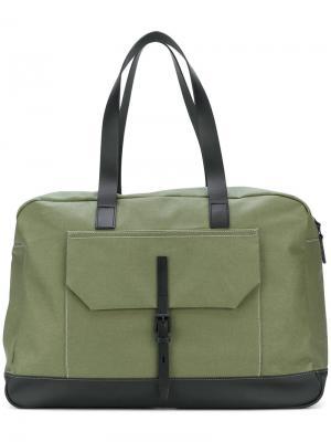 Дорожная сумка Dave Ally Capellino. Цвет: зелёный