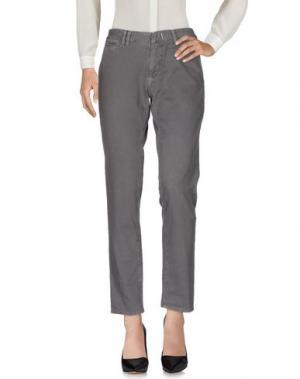 Повседневные брюки 2TWO. Цвет: свинцово-серый