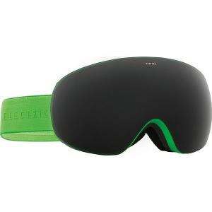 Маска для сноуборда  Eg3.5 Green Weave Chrome Electric. Цвет: черный,зеленый