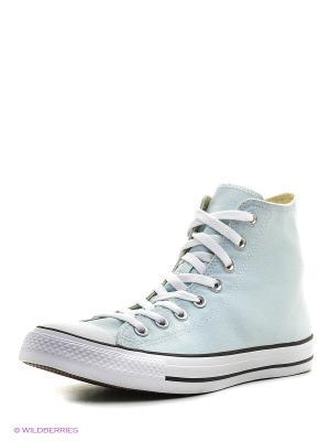 Кеды Chuck Taylor All Star Converse. Цвет: голубой