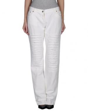 Повседневные брюки GERMANO ZAMA. Цвет: белый