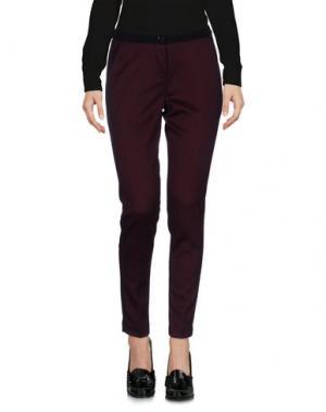 Повседневные брюки L'AIR DE RIEN. Цвет: красно-коричневый