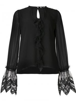 Рубашка Luma Alexis. Цвет: чёрный